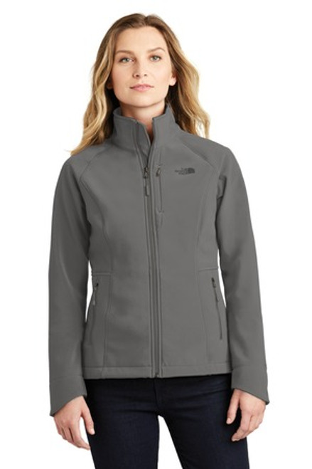 The North Face Ladies Apex Barrier Soft Shell Jacket (00418-25); Primary; Decoration Type: