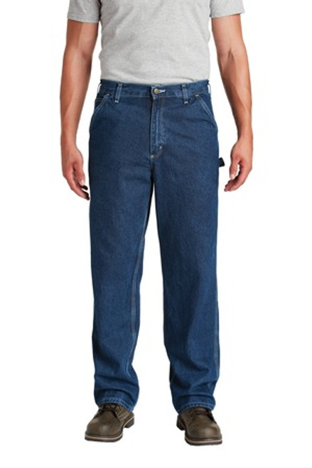 Carhartt Loose-Fit Work Dungaree  (00006-25); Primary; Decoration Type: