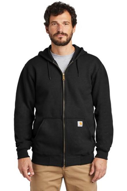 Carhartt Midweight Hooded Zip-Front Sweatshirt (01156-25); Primary; Decoration Type: