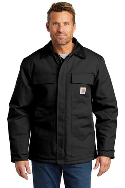 Carhartt Duck Traditional Coat (00498-25); Primary; Decoration Type:
