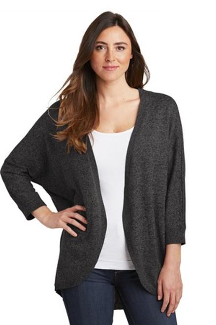 Port Authority Ladies Marled Cocoon Sweater (01501-25); Primary; Decoration Type: