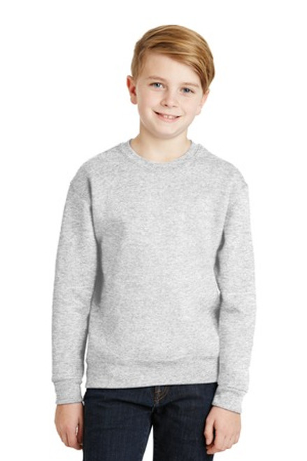 Jerzees - Youth Nublend Crewneck Sweatshirt (00465-25); Primary; Decoration Type: