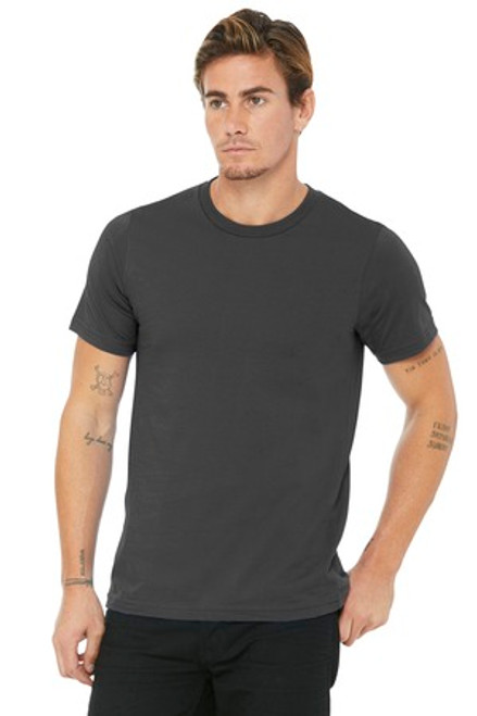 Bella+Canvas Unisex Made In The Usa Jersey Short Sleeve Tee (01376-25); Primary; Decoration Type: