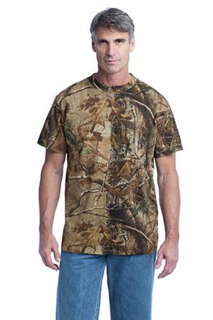 Russell Outdoors - Realtree Explorer 100% Cotton T-Shirt (02179-25); Primary; Decoration Type: