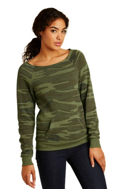 Alternative Women'S Maniac Eco -Fleece Sweatshirt (01139-25); Primary; Decoration Type: