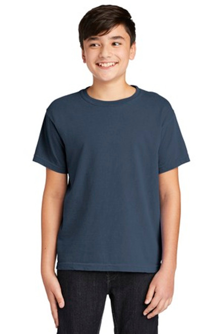 Comfort Colors Youth Midweight Ring Spun Tee (00703-25); Primary; Decoration Type: