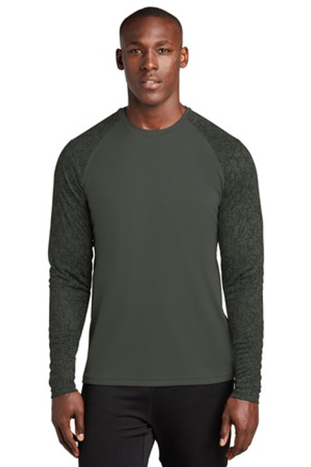 Sport-Tek Long Sleeve Digi Camo Tee (00827-25); Primary; Decoration Type:
