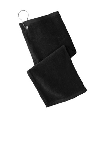 Port Authority Grommeted Hemmed Towel (02293-25); Primary; Decoration Type: