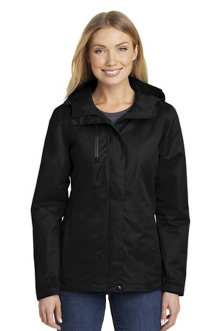 Port Authority Ladies All-Conditions Jacket (00799-25); Primary; Decoration Type: