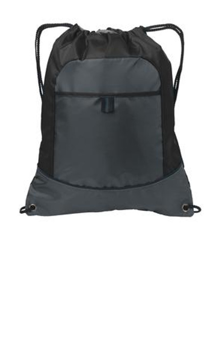 Port Authority Pocket Cinch Pack (01247-25); Primary; Decoration Type:
