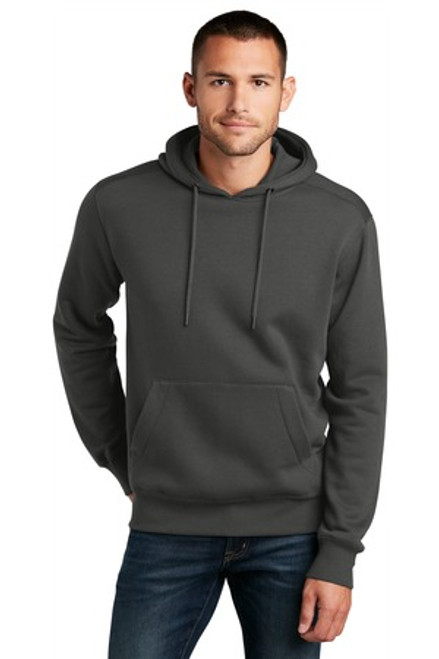 District Perfect Weight Fleece Hoodie (02150-25); Primary; Decoration Type: