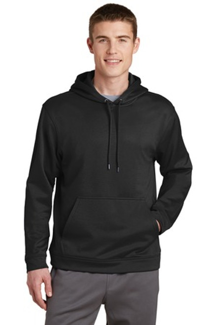 Sport-Tek Sport-Wick Fleece Hooded Pullover (01413-25); Primary; Decoration Type: