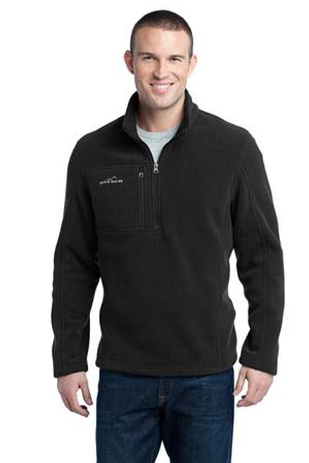 Discontinued Eddie Bauer - 1/4-Zip Fleece Pullover (01672-25); Primary; Decoration Type: