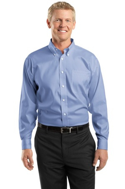 Discontinued Red House Tall Non-Iron Pinpoint Oxford Shirt (00927-25); Primary; Decoration Type: