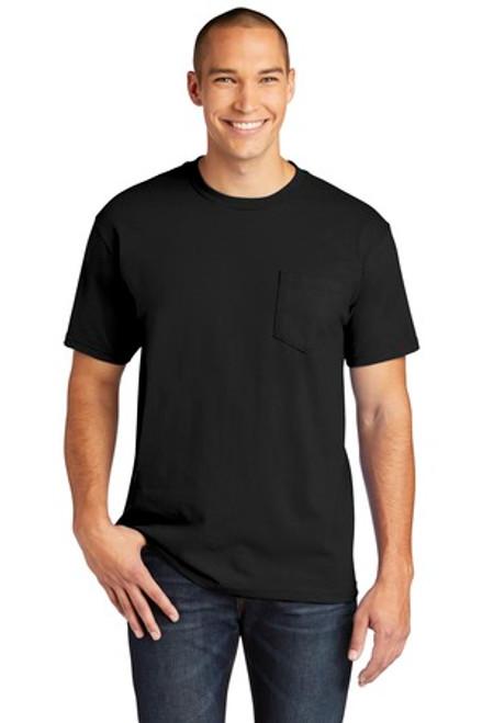 Gildan Hammer Pocket T-Shirt (01028-25); Primary; Decoration Type: