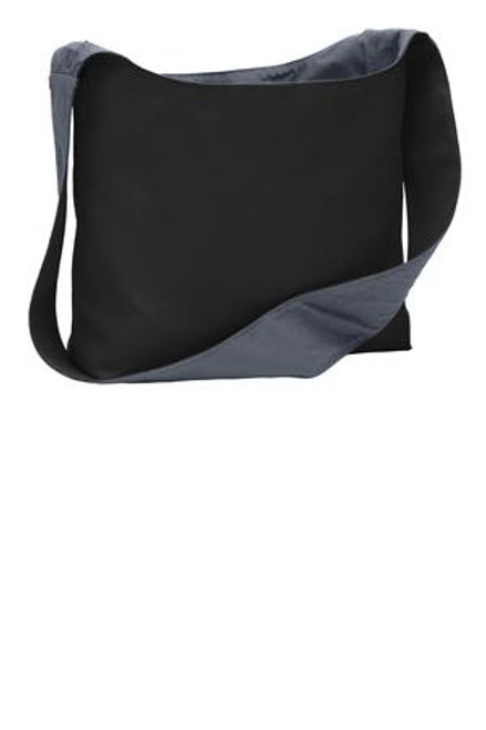 Port Authority Cotton Canvas Sling Bag (01992-25); Primary; Decoration Type: