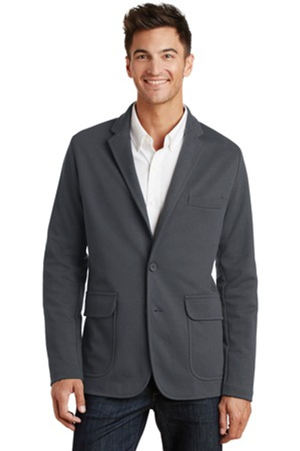 Discontinued Port Authority Knit Blazer (00036-25); Primary; Decoration Type: