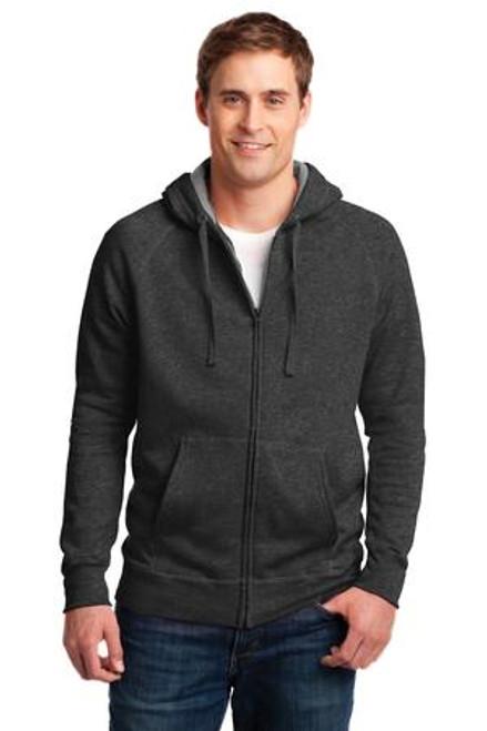 Hanes Nano Full-Zip Hooded Sweatshirt (01546-25); Primary; Decoration Type: