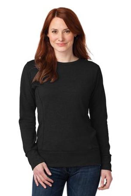 Anvil Ladies French Terry Crewneck Sweatshirt (02291-25); Primary; Decoration Type:
