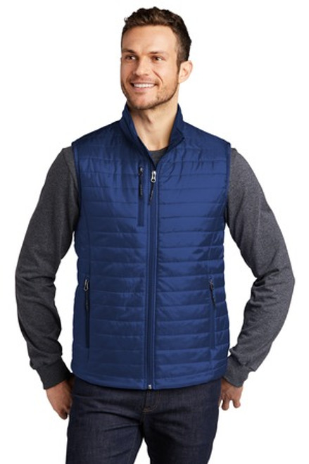 Port Authority Packable Puffy Vest (00108-25); Primary; Decoration Type: