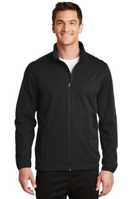 Port Authority Active Soft Shell Jacket (01341-25); Primary; Decoration Type: