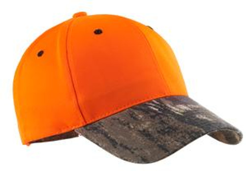 Port Authority Enhanced Visibility Cap With Camo Brim (01592-25); Primary; Decoration Type: