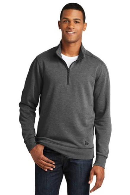 New Era Tri-Blend Fleece 1/4-Zip Pullover (02232-25); Primary; Decoration Type: