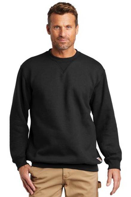 Carhartt Midweight Crewneck Sweatshirt (01621-25); Primary; Decoration Type: