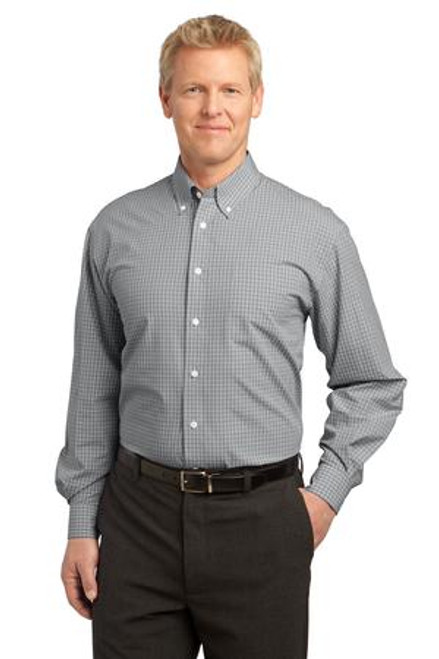 Port Authority Plaid Pattern Easy Care Shirt (00174-25); Primary; Decoration Type: