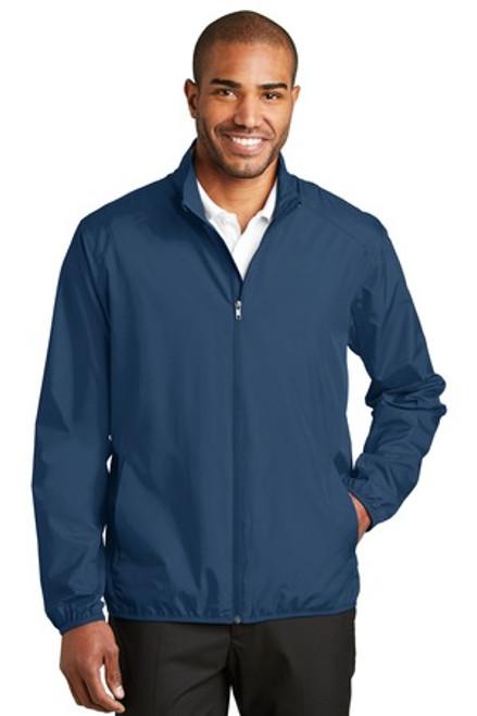 Port Authority Zephyr Full-Zip Jacket (01401-25); Primary; Decoration Type: