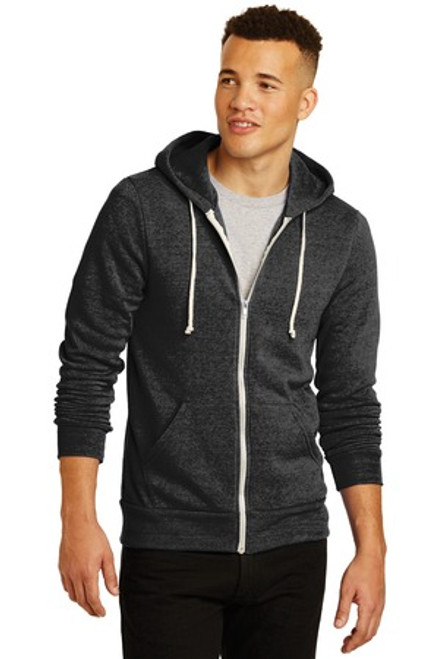 Alternative Rocky Eco -Fleece Zip Hoodie (01887-25); Primary; Decoration Type: