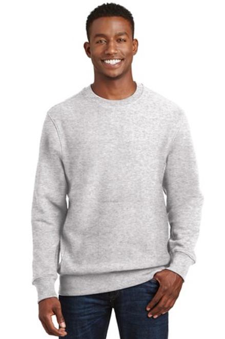 Sport-Tek Super Heavyweight Crewneck Sweatshirt (02256-25); Primary; Decoration Type: