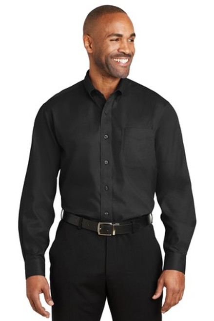 Red House - Dobby Non-Iron Button-Down Shirt (00061-25); Primary; Decoration Type: