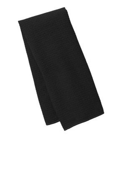 Port Authority Waffle Microfiber Fitness Towel (01999-25); Primary; Decoration Type: