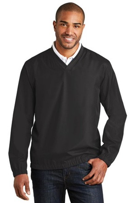 Port Authority Zephyr V-Neck Pullover (01267-25); Primary; Decoration Type: