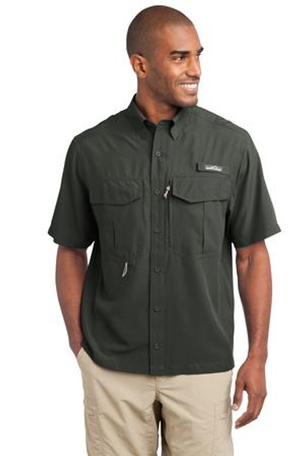 Eddie Bauer - Short Sleeve Performance Fishing Shirt (01860-25); Primary; Decoration Type: