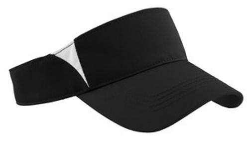 Sport-Tek Dry Zone Colorblock Visor (00777-25); Primary; Decoration Type:
