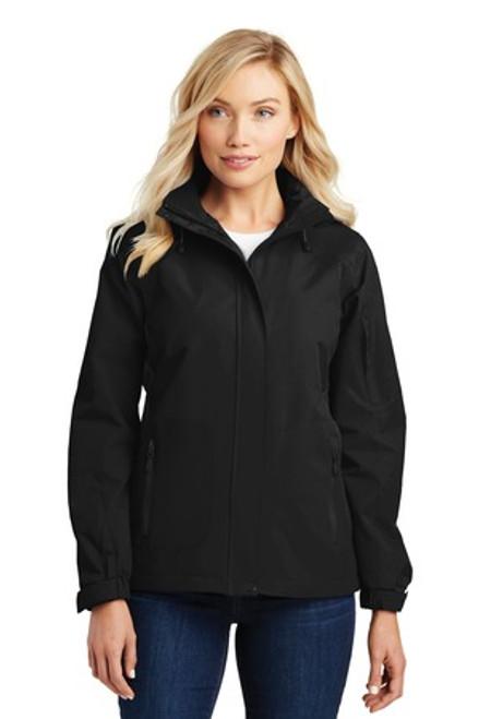 Port Authority Ladies All-Season Ii Jacket (01864-25); Primary; Decoration Type: