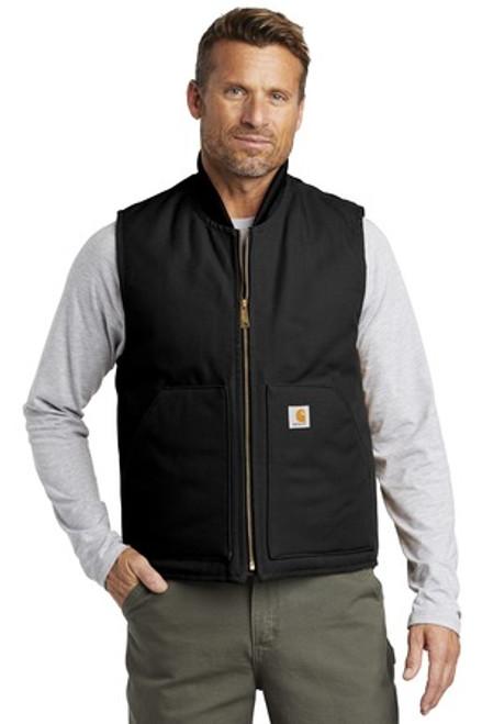 Carhartt Duck Vest (00575-25); Primary; Decoration Type: