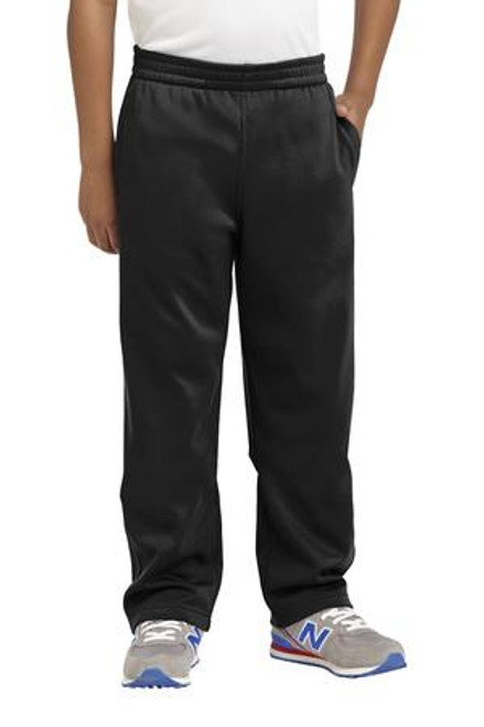 Sport-Tek Youth Sport-Wick Fleece Pant (01553-25); Primary; Decoration Type: