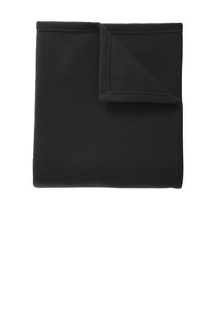 Port Authority Core Fleece Blanket (01582-25); Primary; Decoration Type: