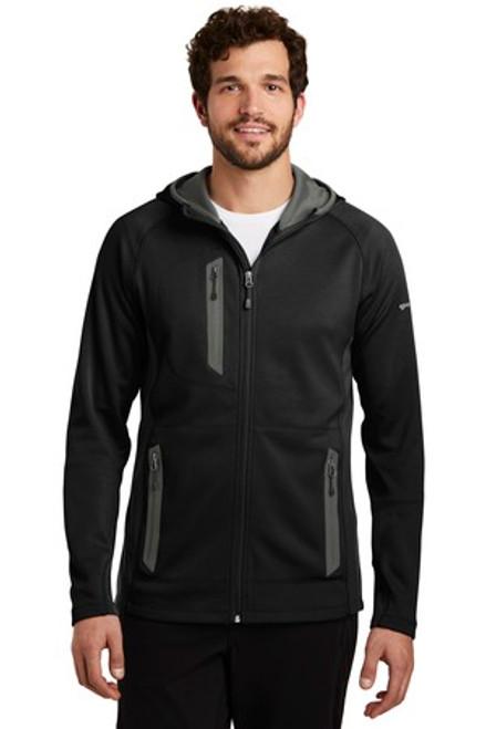 Eddie Bauer Sport Hooded Full-Zip Fleece Jacket (00717-25); Primary; Decoration Type: