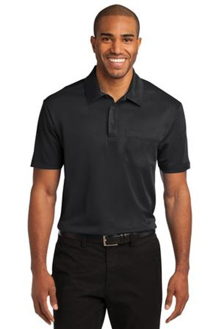 Port Authority Silk Touch Performance Pocket Polo (01108-25); Primary; Decoration Type: