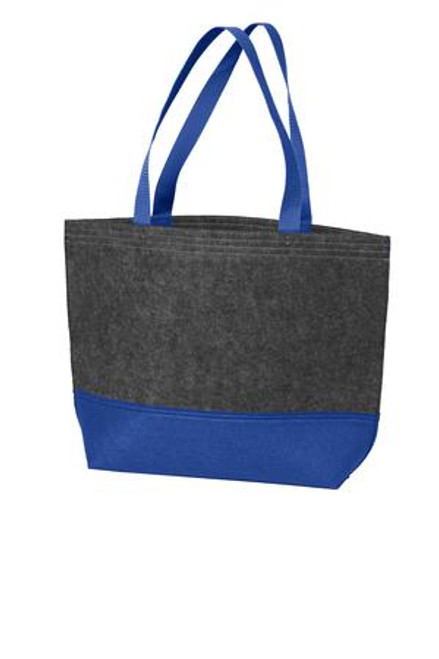Port Authority Medium Felt Tote (01143-25); Primary; Decoration Type: