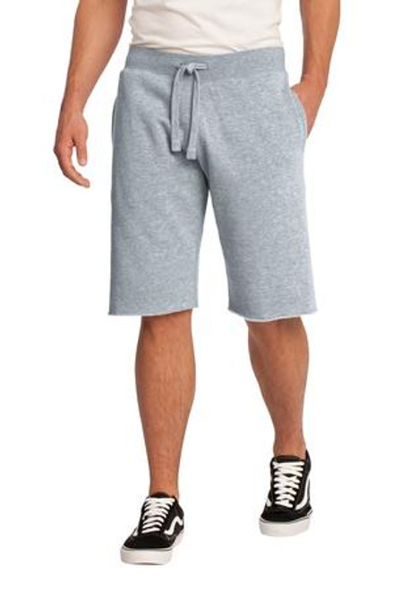 Discontinued District - Young Mens Core Fleece Short (01591-25); Primary; Decoration Type: