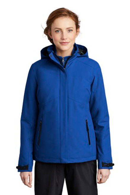 Port Authority Ladies Insulated Waterproof Tech Jacket (00705-25); Primary; Decoration Type: