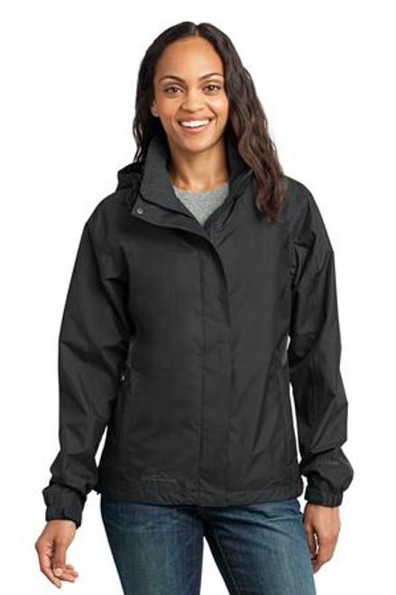 Eddie Bauer - Ladies Rain Jacket (01990-25); Primary; Decoration Type: