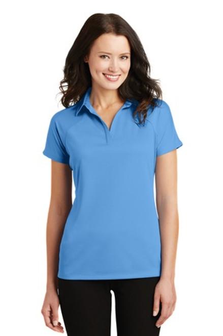 Port Authority Ladies Crossover Raglan Polo (01211-25); Primary; Decoration Type: