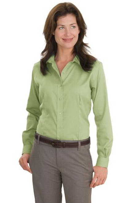 Discontinued Red House - Ladies Nailhead Non-Iron Shirt (00592-25); Primary; Decoration Type: