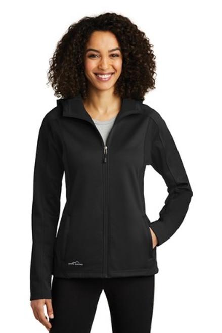 Eddie Bauer Ladies Trail Soft Shell Jacket (02133-25); Primary; Decoration Type:
